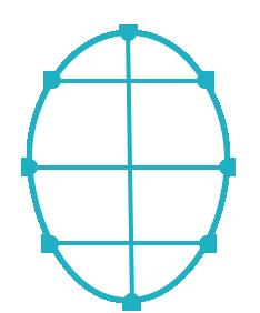 Gesichtsform Oval