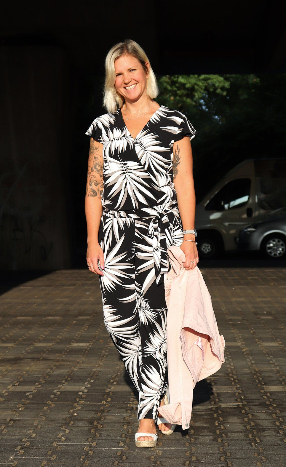 My June Fashion Favorite - Jumpsuit mit Print